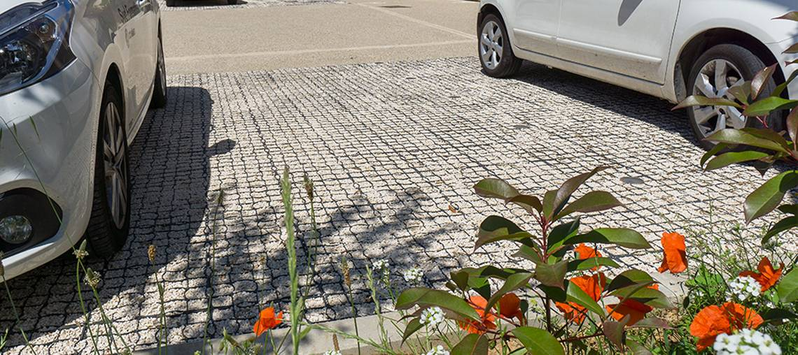 parking cluster marguerite ecomineral