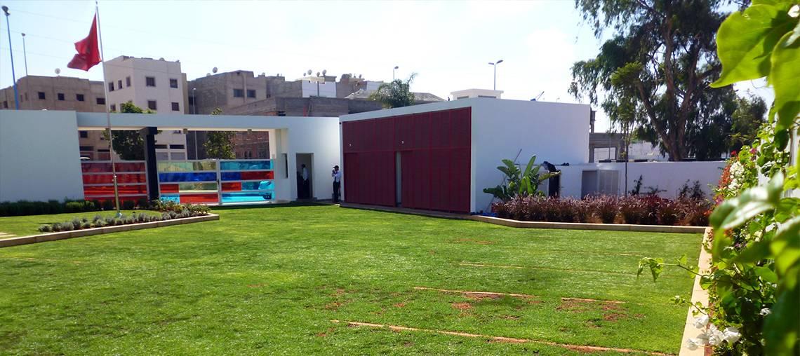 Parking ecovegetal green au Maroc