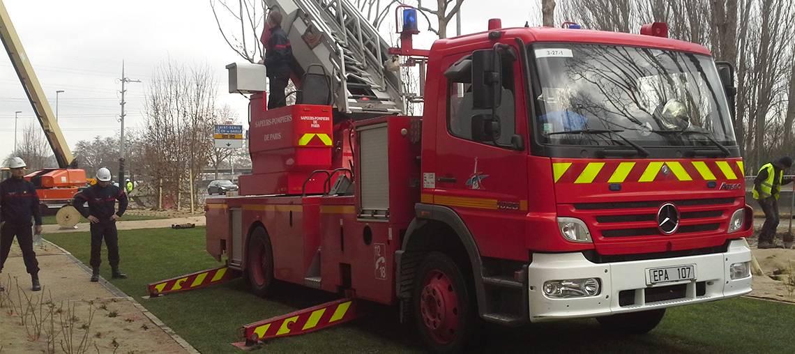 voie pompier perméable et végétale par ecovegetal
