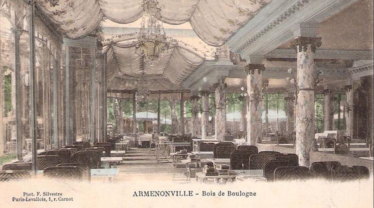 Le Pavillon d'Armenonville dispose de 6 salons pour l'organisation d'événements d'entreprise ou d'événements privés.