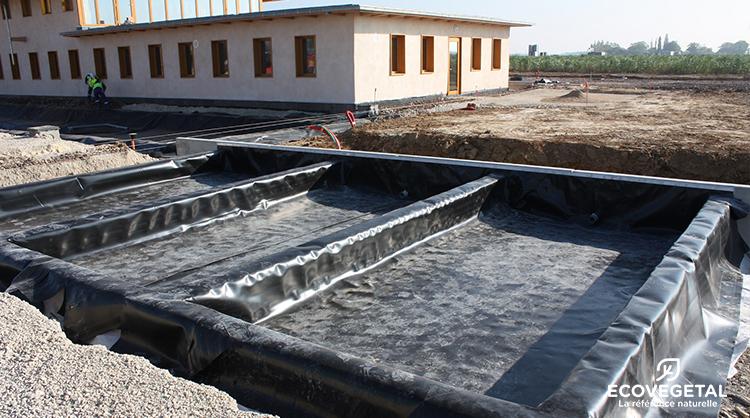 Ecovegetal produits pour une gestion performante des for Bache pour bassin de retention d eau