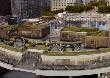 ECOVEGETAL végétalise OXYGEN : la nouvelle destination branchée de La Défense