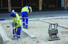 Fond de forme et fondations parking