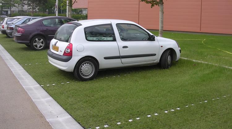 Réussir parking engazonné - 5 clés