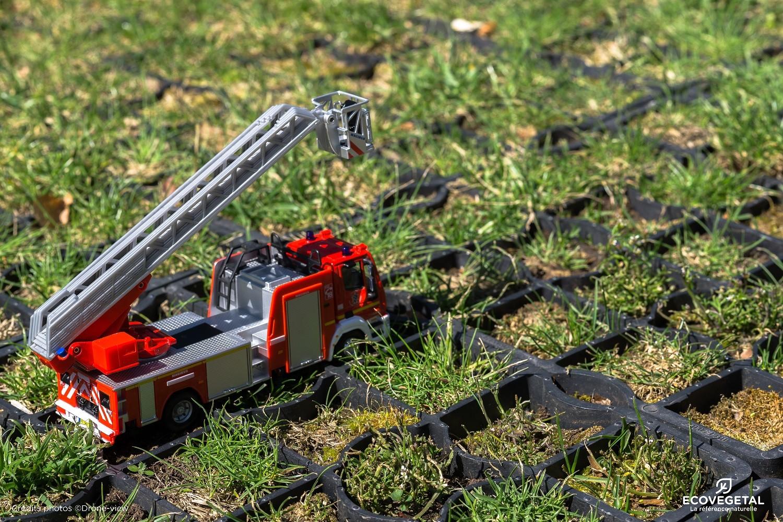 Voie pompier voie d'accès validée par les pompiers