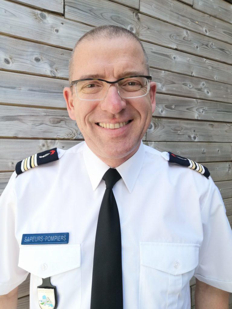 Lieutenant colonel des sapeurs pompiers Yves Olivier Uracz